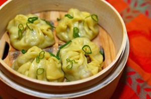 The national dish of Mongolia - Buuz