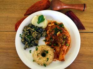 National dish of Bolivia - Picante de pollo