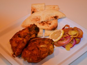 The national dish of India - Tandoori Chicken
