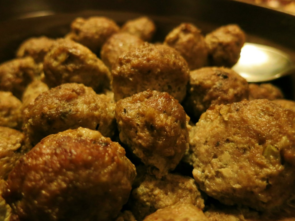 Swedish christmas meatballs