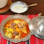 National dish of Bosnia and Herzegovina - Bosanski Lonac