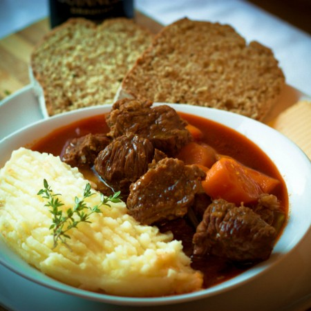The national dish of Ireland - Irish Stew