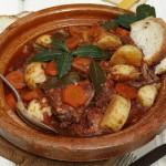 the national dish of Malta - Stuffat tal-fenek