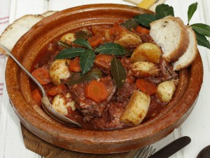 the national dish of Malta - Stuffat tal-fenek