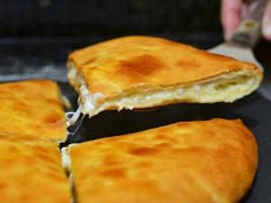 The national dish of Georgia - Khachapuri