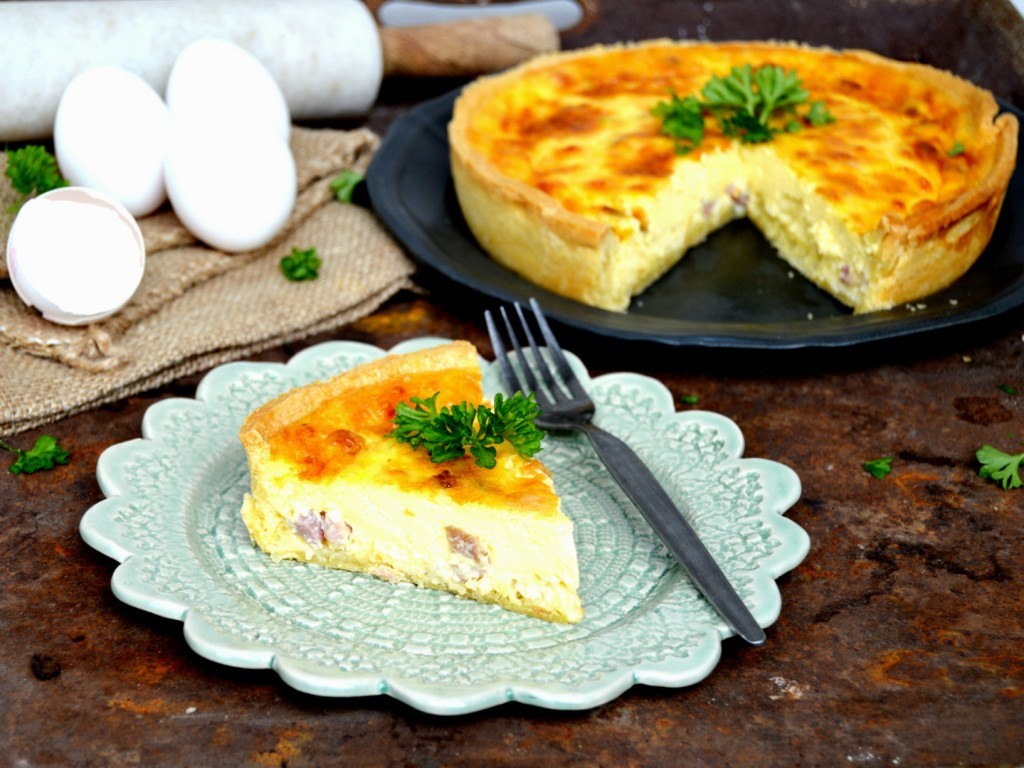 National dish of France - Quiche Lorraine