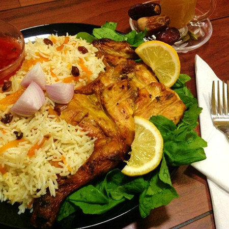 Recipe The National Dish Of Saudi Arabia Kabsa Fahm Ruz Bukhari