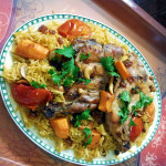 The national dish of Bahrain - Machboos