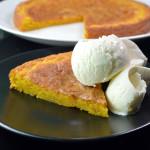 saffranskladdkaka - swedish saffron sticky cake