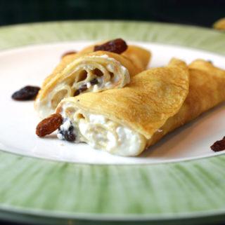 Turos palacsinta - hungarian crepes