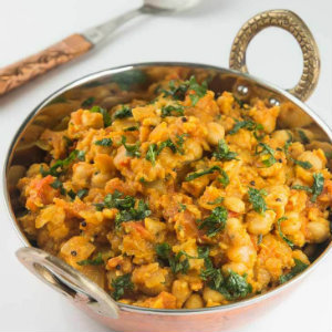 chole masala indian chickpea curry
