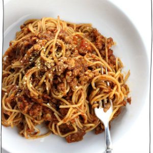 The best ever lentil ragu vegan pasta