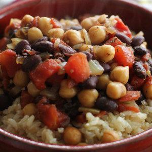 Jamaican Chickpeas Stew