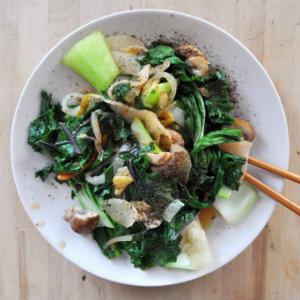 Easy weeknight Kimchi Stir-Fry