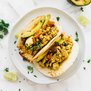 Easy Tofu Scramble Tacos