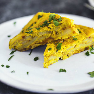 Vegan spanish tortilla