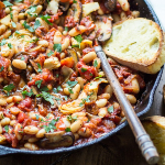 tuscan-bean-skillet-vegan