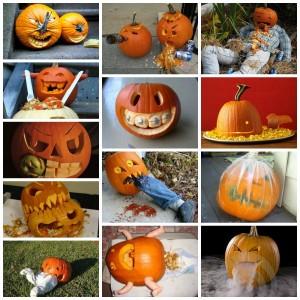 Pumpor till Halloween