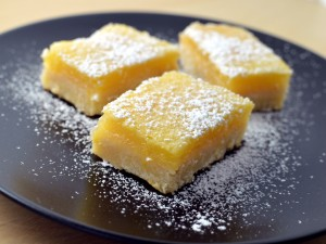 Recipe: Dangerous lemon bars
