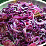 Red cabbage in mulled wine