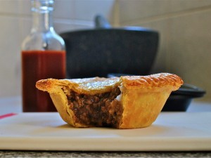 The national dish of Australia - Meat pie