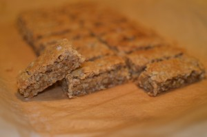 Recipe: Gooey caramel oatmeal bars