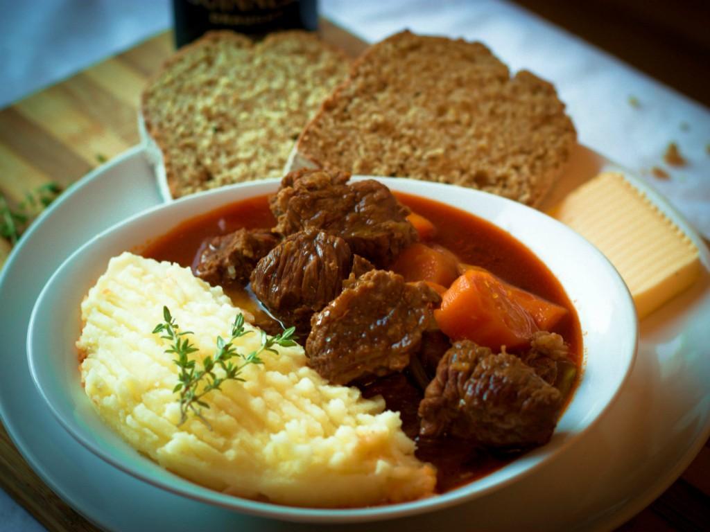 The national dish of Ireland - Irish Stew