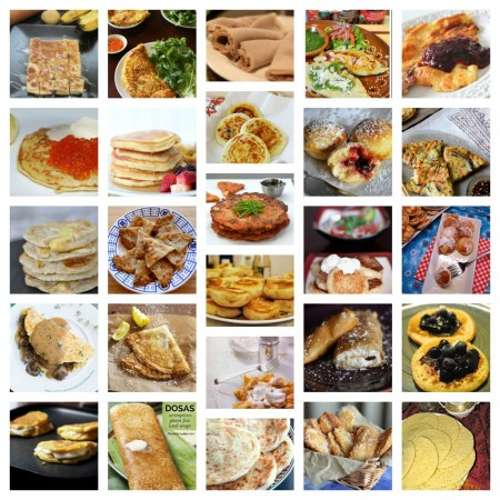 50+ different pancakes around the world