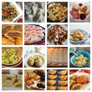 40+ different dumplings around the world (including turnovers, patties, pierogi, empanadas)