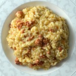 Recipe: risotto with chorizo