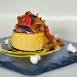 The national dish of Moldova - Mamaliga