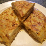 The national dish of Spain - Tortilla de patatas