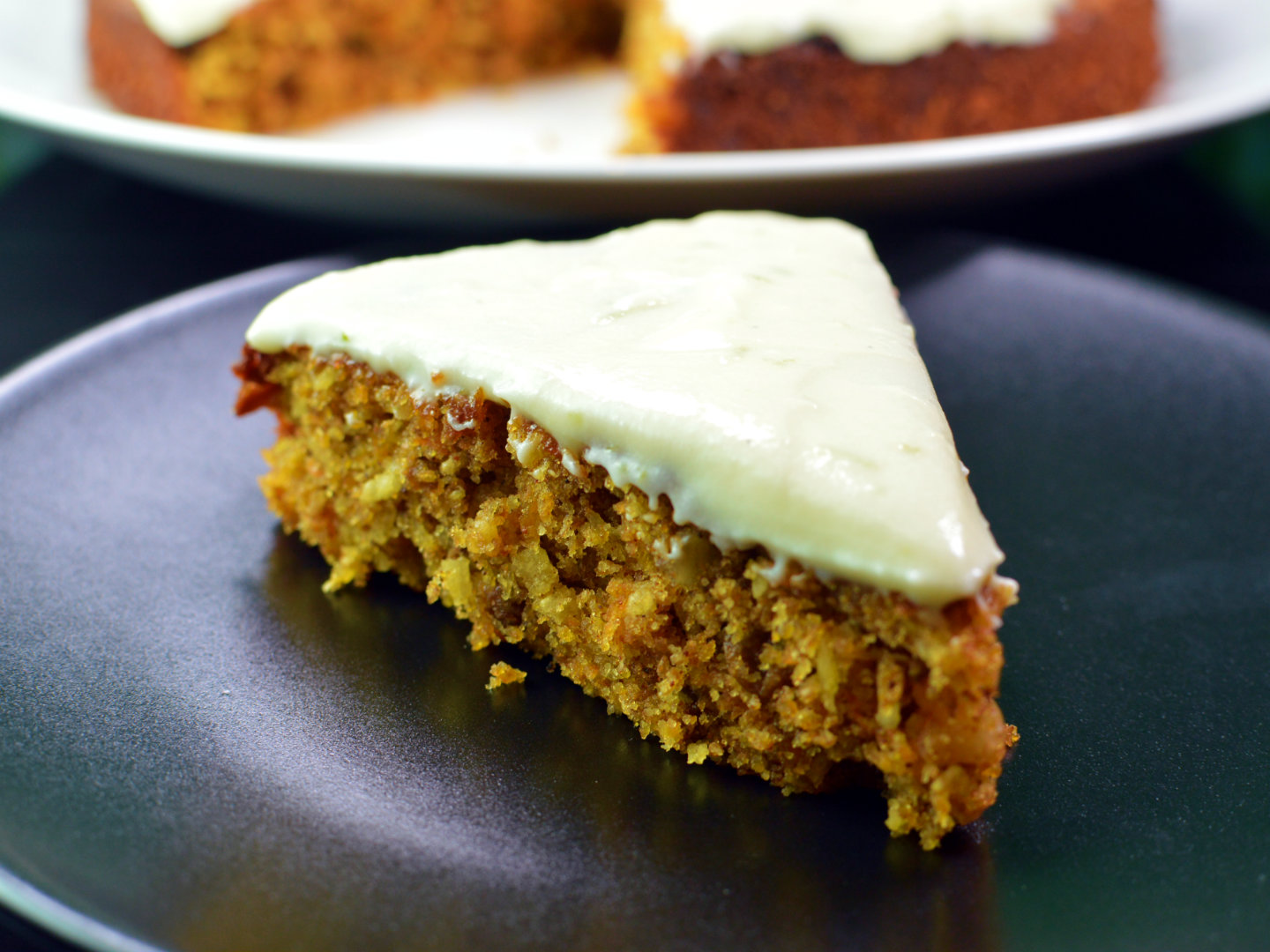 Recipe: Moist carrot cake with lime cream cheese frosting ...