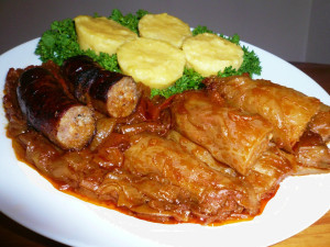 The national dish of Romania - Sarmale