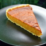 Sweet potato pie with coconut