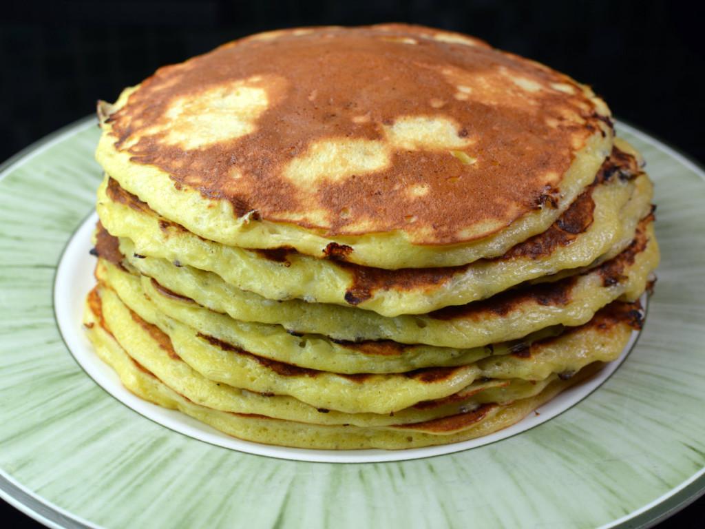Cottage chesse pancakes