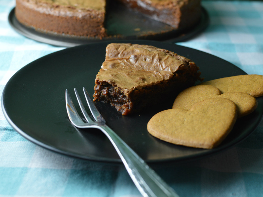 Swedish gingerbread chocolate mud cake