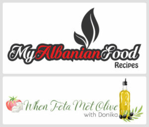 Albanian food blogs written in English
