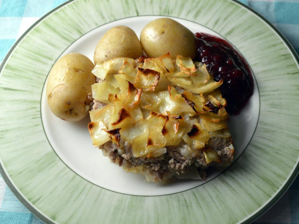 Swedish cabbage casserole - kålpudding