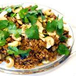 Cecilia Söderlund - fried rice med omelett och cashewnötter