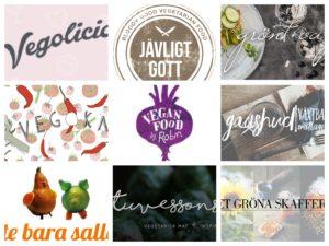 De 18 bästa svenska vegan och vegetariska matbloggarna 2017