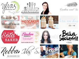 Svenska bakbloggar 2017