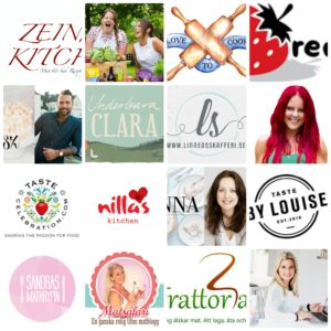 bästa svenska matbloggarna