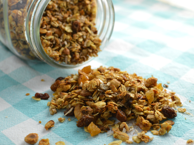 Enkel hemmagjord granola