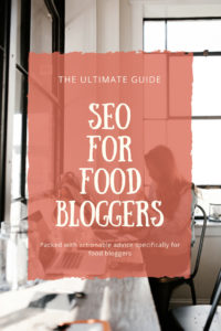 SEO for food bloggers – the ultimate guide