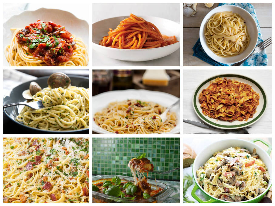 18 authentic Italian pasta recipes