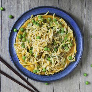 Butternut ginger sauce noodles