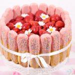 cakebymary - Jordgubbstiramisu-tårta
