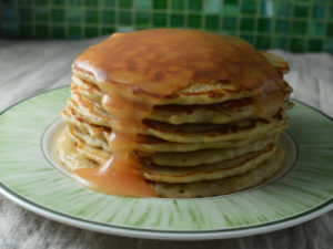 American apple pancakes