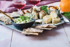 Vegansk ostbricka - grönt varje dag